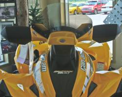 Can-Am Outlander Renegade Yellow Fairing