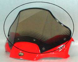 Can-Am Outlander XT 500 650 800 Sport Tinted ATV Windshield
